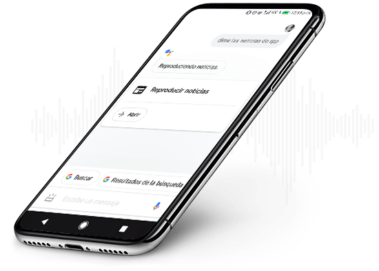 Escucha las últimas noticias con Google Assistant